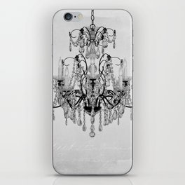 belle époque chandelier iPhone Skin