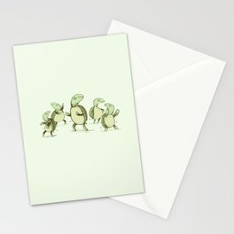 Dancing Turtles Stationery Cards