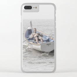 Row, Jersey Shore Clear iPhone Case