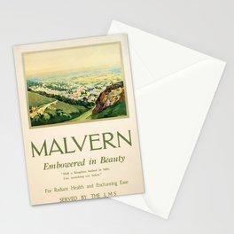 Vintage Malvern Stationery Cards