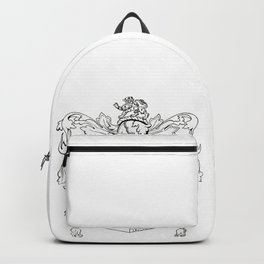 Swormanship Coat of Arms Backpack