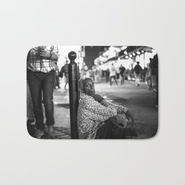 Alone in a Crowded Place Bath Mat