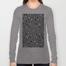 Abstract kaleidoscopic pattern Long Sleeve T-shirt