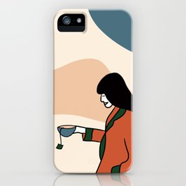 Tea lover iPhone Case