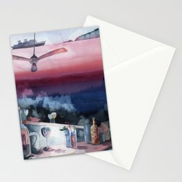Something about Ernest Hemingway-Watercolor Stationery Cards
