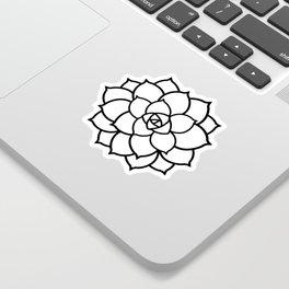 Simple Succulent Sticker