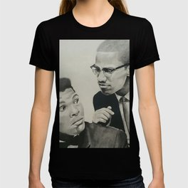 Muhammad and Malcolm T-shirt
