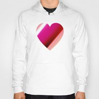 bands Hoodies featuring Bands Heart by Tom Sebert