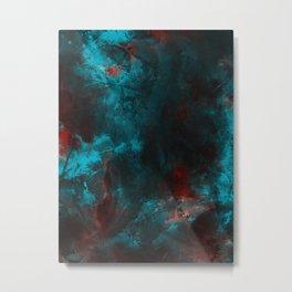 so dark abstraction Metal Print