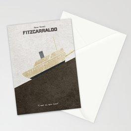 Fitzcarraldo Alternative Minimalist Poster Stationery Cards