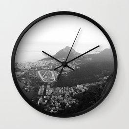 Rio de Janeiro, Brasil Wall Clock