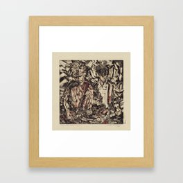 The Jesus and Mary Chain Framed Art Print