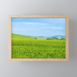 Bignor Hill. Framed Mini Art Print
