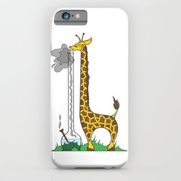 Long Long Giraffe Bong iPhone Case