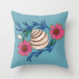 Pawleys Island Shell Throw Pillow