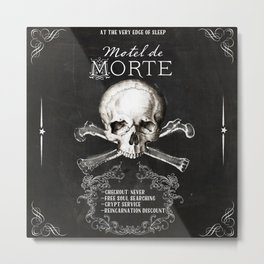Motel de Morte Metal Print