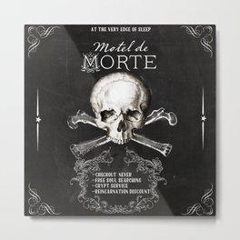 Motel de Morte Metal Print