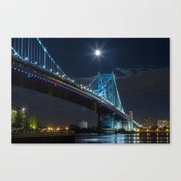 Bens Bridge Canvas Print