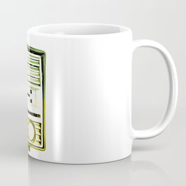 Vintage Radio Pop Art Coffee Mug