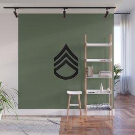Staff Sergeant (Green) Wall Mural