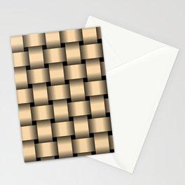 Large Navajo White Orange Weave Stationery Cards