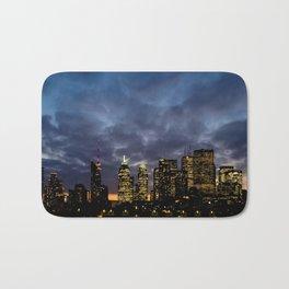 Skyline Cloudy Sunset Bath Mat