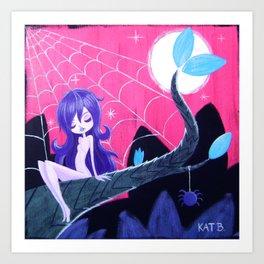 Spider Sprite Art Print
