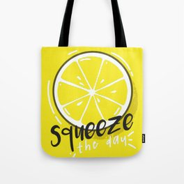 Squeeze Day Tote Bag