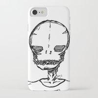 boyfriend iPhone & iPod Cases featuring skeleton boyfriend by weekwah