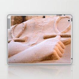 Luxor temple carving 7 Laptop & iPad Skin