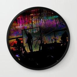 Rock Star (Color) Wall Clock
