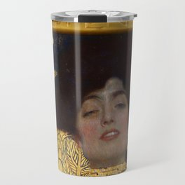 Gustav Klimt - Judith and the Head of Holofernes Travel Mug