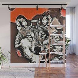 Wolf 2014-0977 Wall Mural