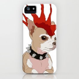 Bad Ass Chihuahua iPhone Case