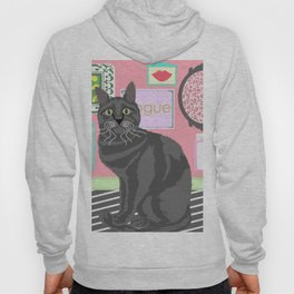 Cat and a Interior Hoody