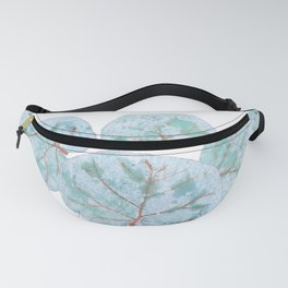 Sea Grape Tropical Leaves Fanny Pack