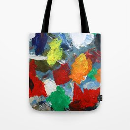 The Artist's Palette Tote Bag