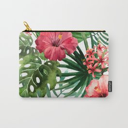 FLOWERS WATERCOLOR 8 Carry-All Pouch