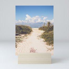 The Beach Path Mini Art Print