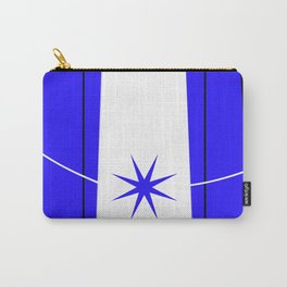blue star on stage Carry-All Pouch
