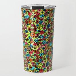 Flower doodles Travel Mug