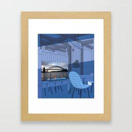 Sydney After Lunch Framed Art Print