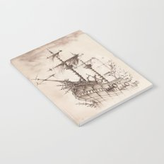 Haunted Ship Notebook