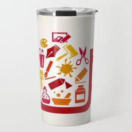 Art a cup Travel Mug