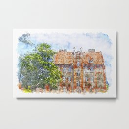 Old Home Metal Print