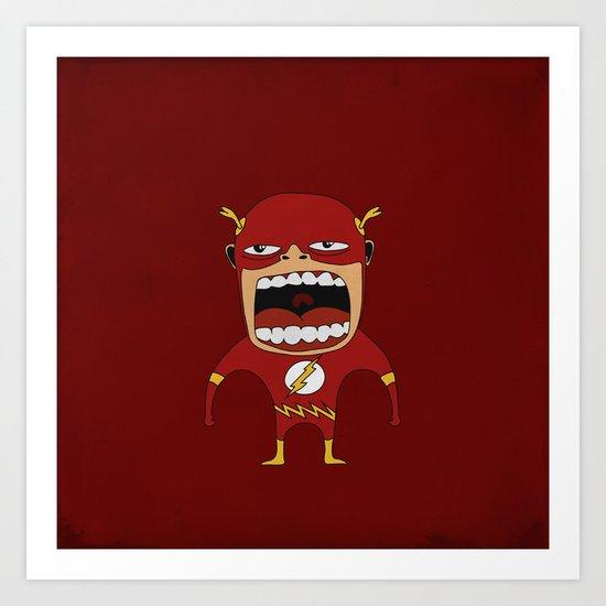 Screaming Flash Art Print