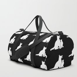 Dog and Cat BFFs Duffle Bag
