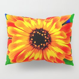 Orange Marigold Pillow Sham