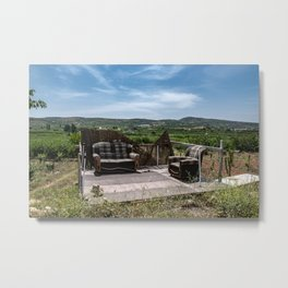Calm place to relax Metal Print