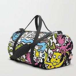 The yellow rabbit Duffle Bag